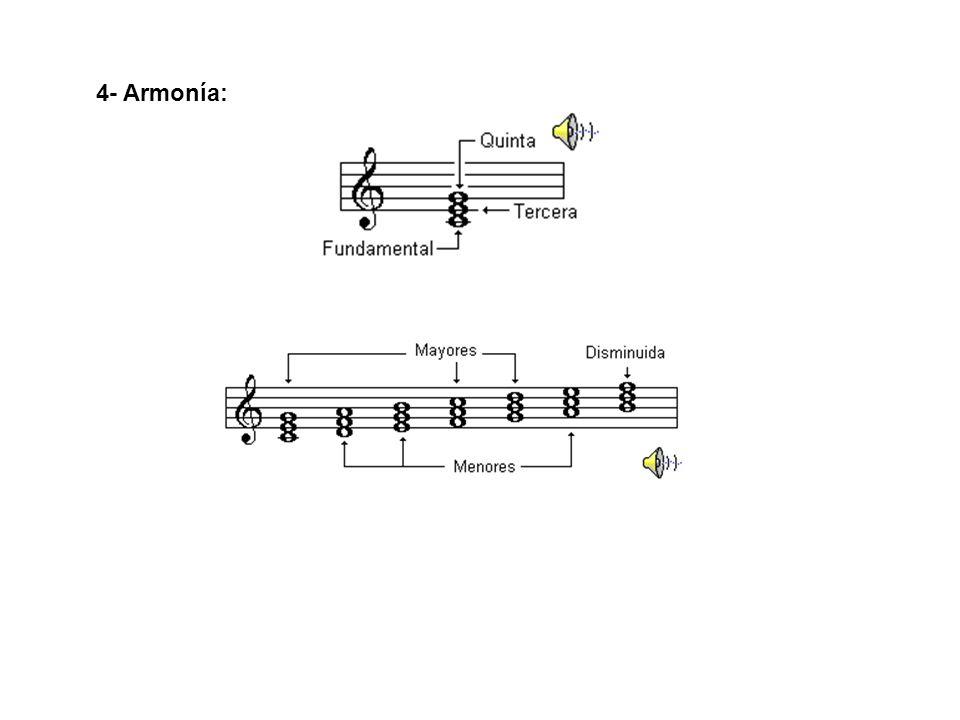 4- Armonía: