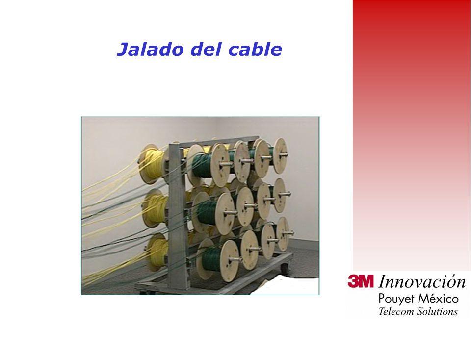 Durante la instalación manten el radio de curvatura del cable tan amplio como sea posible La ANSI/TIA/EIA-568-A establece que el radio mínimo de curva