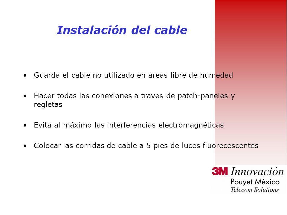 Evita doblar el cable innecesariamente Minimiza el torcido del forro del cable Reemplaza el cable dañado Evita areas de temperatura excesiva Realizar