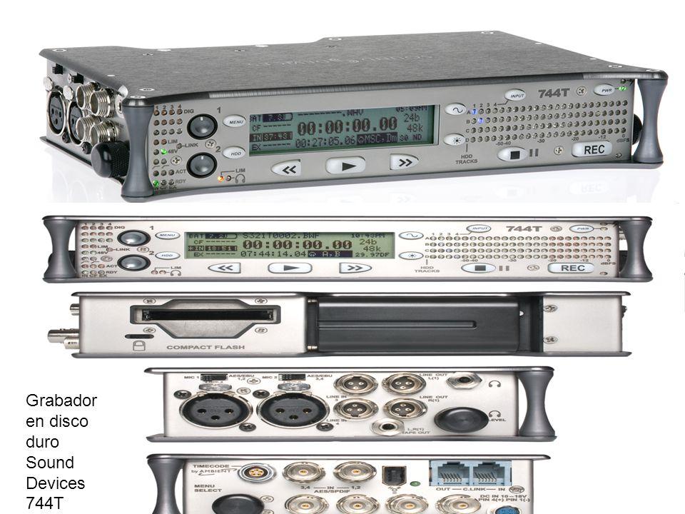 Grabador en disco duro Sound Devices 744T