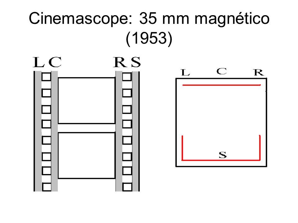 Cinemascope: 35 mm magnético (1953)