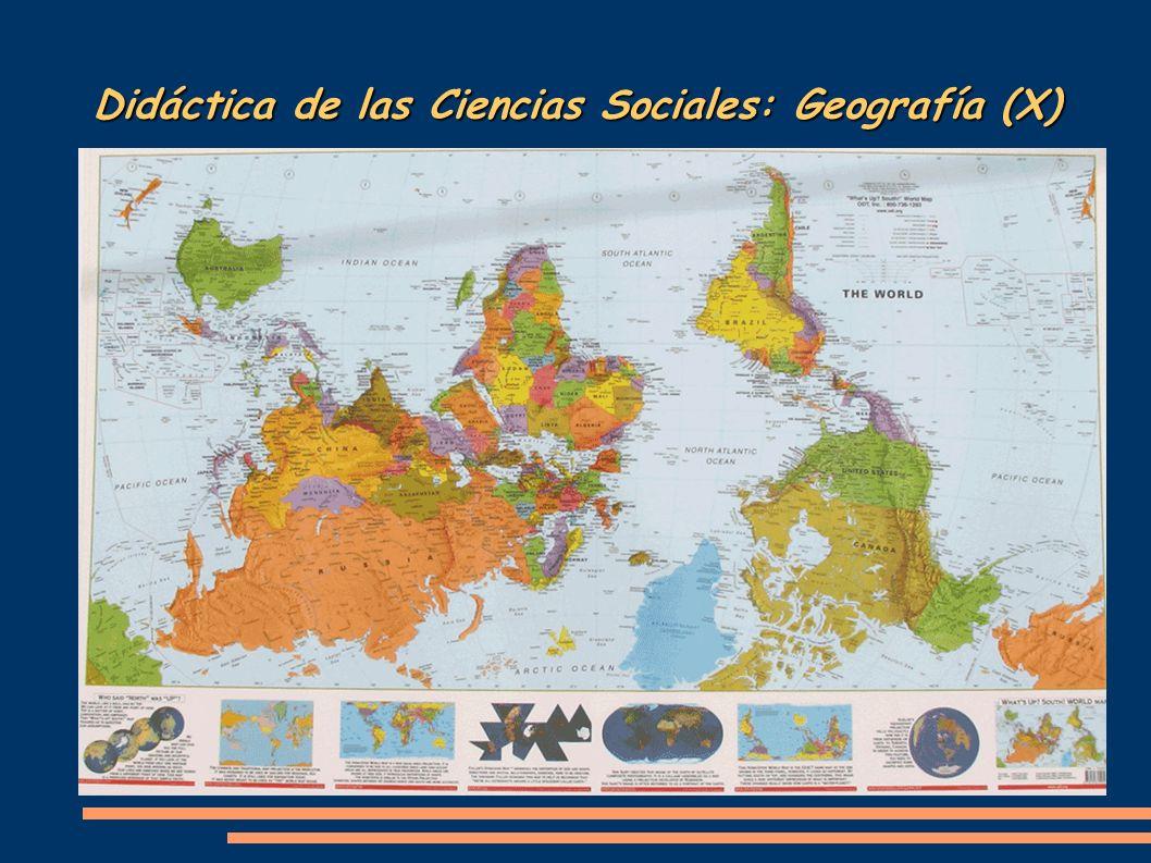 Didáctica de las Ciencias Sociales: Geografía (X) Es decir, para el mundo musulmán la representación de la Tierra sería esta...