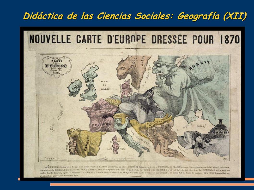 Didáctica de las Ciencias Sociales: Geografía (XII)