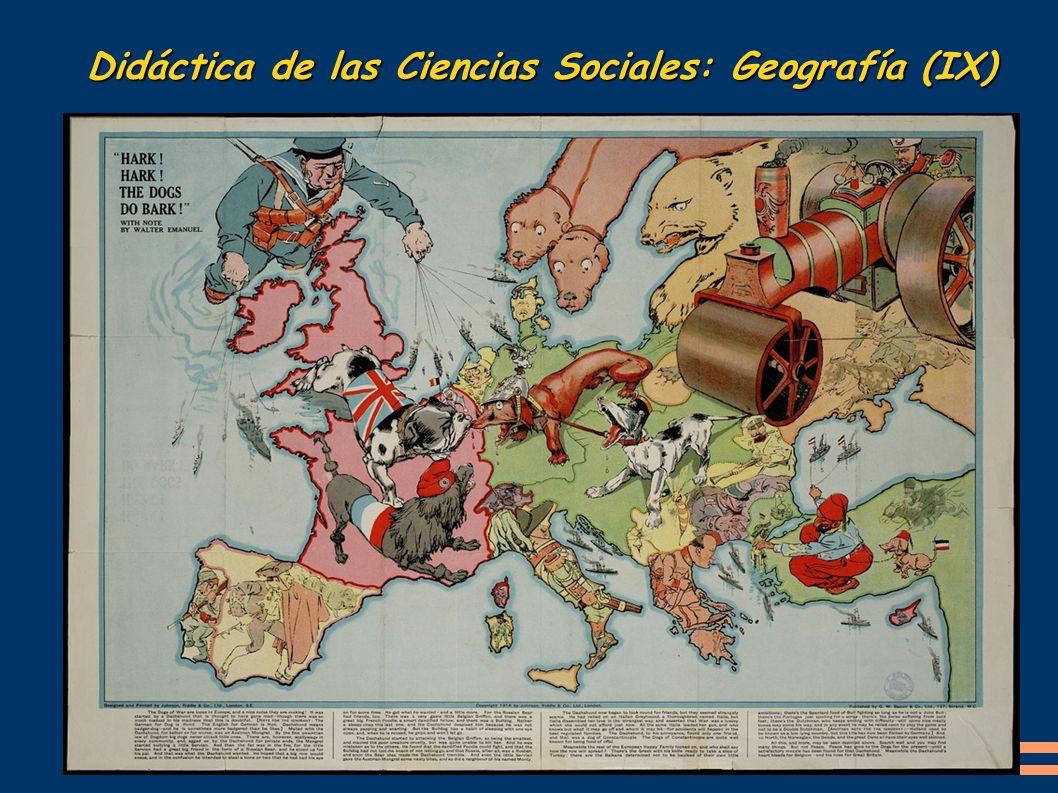 Didáctica de las Ciencias Sociales: Geografía (IX)