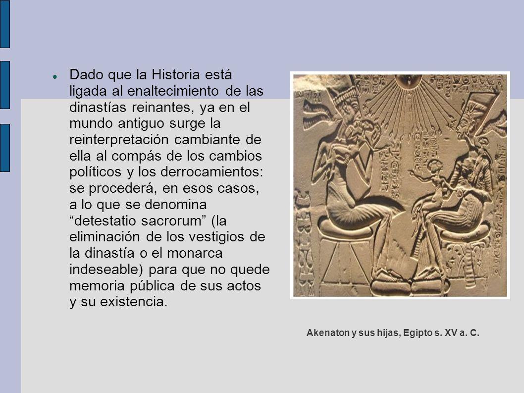 En el siglo V aparece en Grecia el tratamiento histórico.