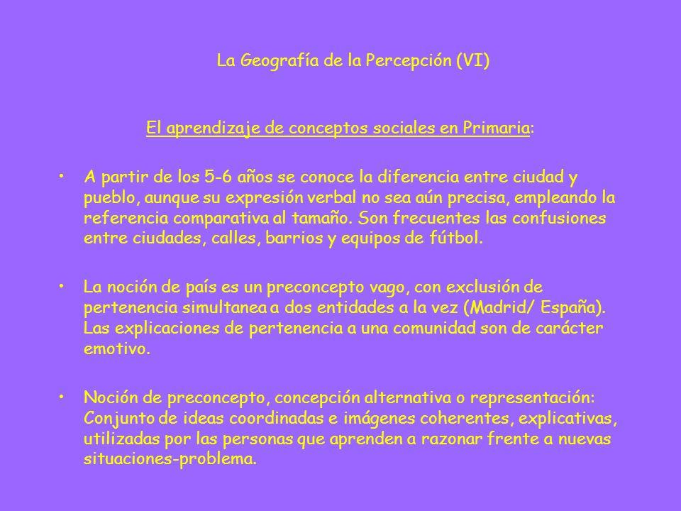 Ámbitos de representaciones sociales: - Economía: Representaciones ingenuas regidas por la apariencia externa (pobreza-riqueza, moneda metálica...) y consideraciones morales.