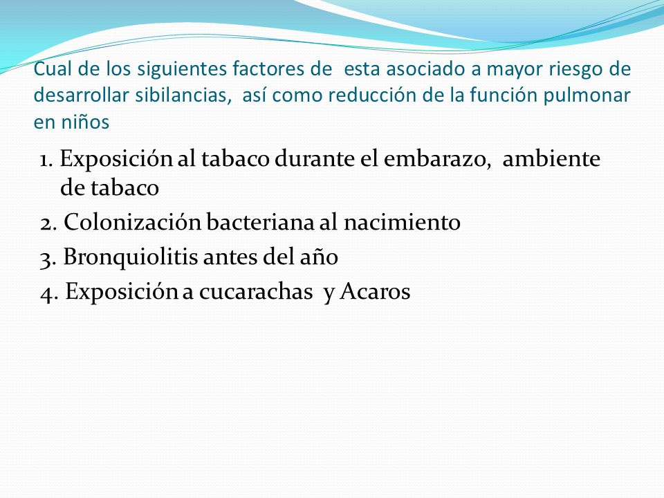 DAÑO PULMONAR INTERROGANTES EN EL TIEMPO EN QUE OCURRIA LA PERDIDA DE LA FUNCION PULMONAR.