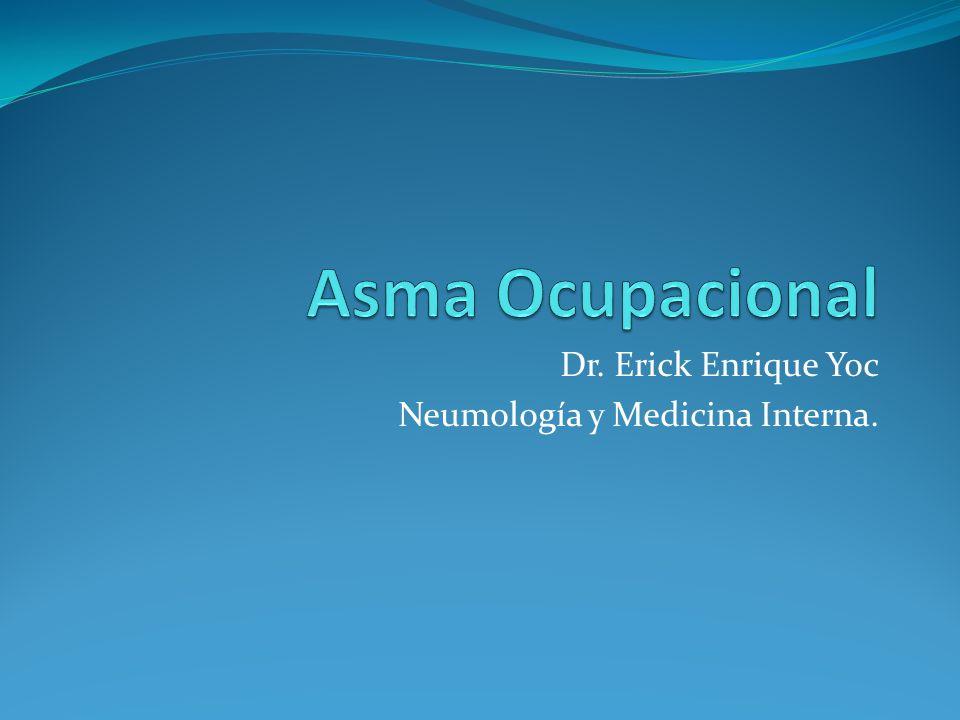 Dr. Erick Enrique Yoc Neumología y Medicina Interna.