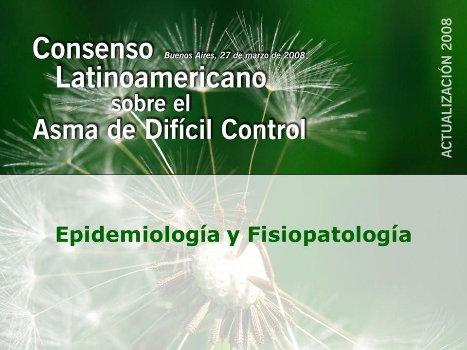 Epidemiología y Fisiopatología