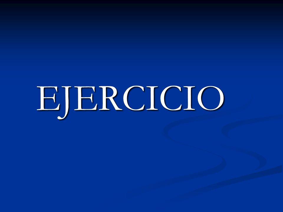 EJERCICIO EJERCICIO