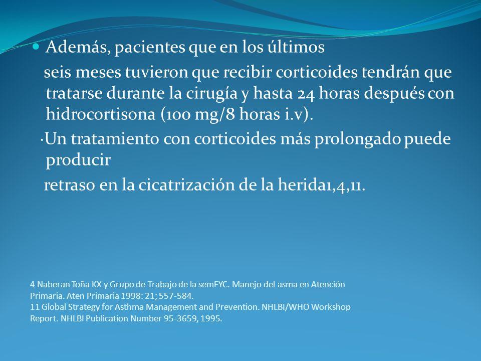 4 Naberan Toña KX y Grupo de Trabajo de la semFYC. Manejo del asma en Atención Primaria. Aten Primaria 1998: 21; 557-584. 11 Global Strategy for Asthm