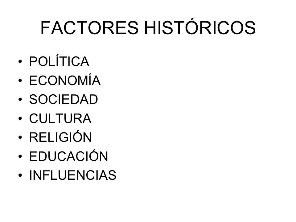 POLÍTICA Estructura política –Ciudades-estado independientes.
