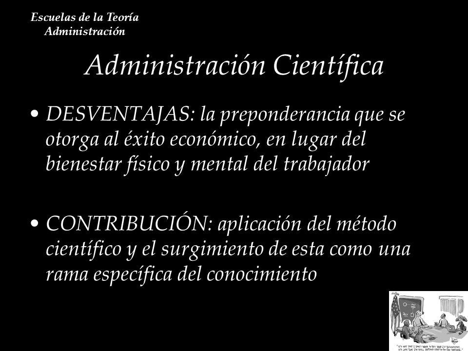 Escuela de la Medición Cuantitativa Escuelas de la Teoría Administración A kauffma Norbert Wiener Irwin D.