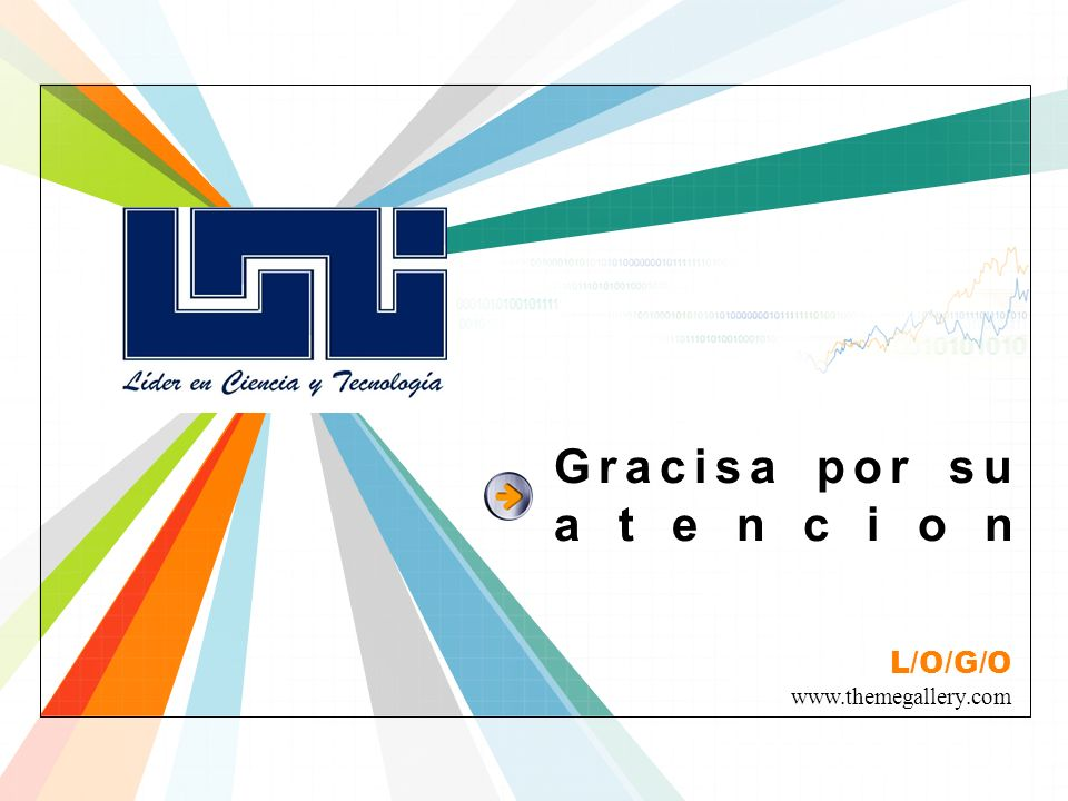 L/O/G/O www.themegallery.com Gracisa por su atencion