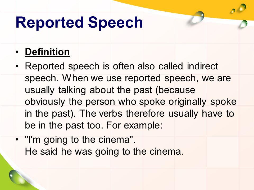 Reported speech En las oraciones interrogativas usamos el mismo orden gramatical: el sujeto va después del verbo pero no es necesario usar el auxiliar do o did .