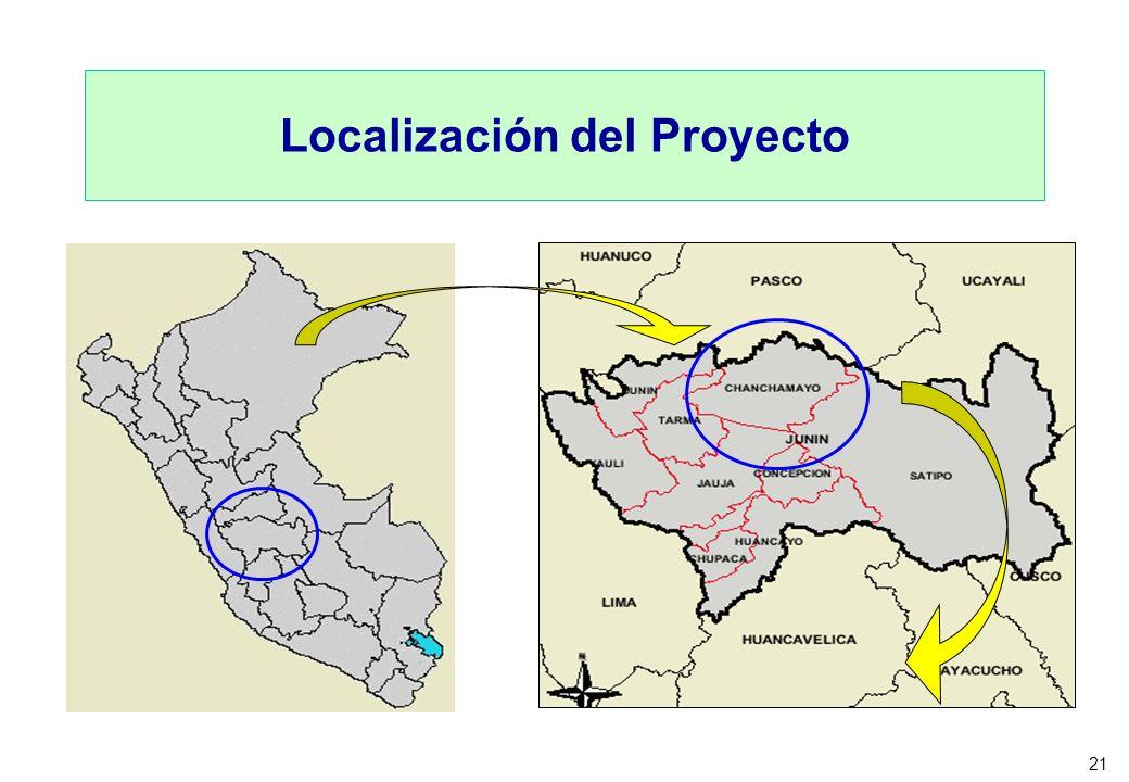 21 Localización del Proyecto