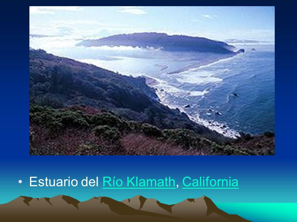 Estuario del Río Klamath, CaliforniaRío KlamathCalifornia
