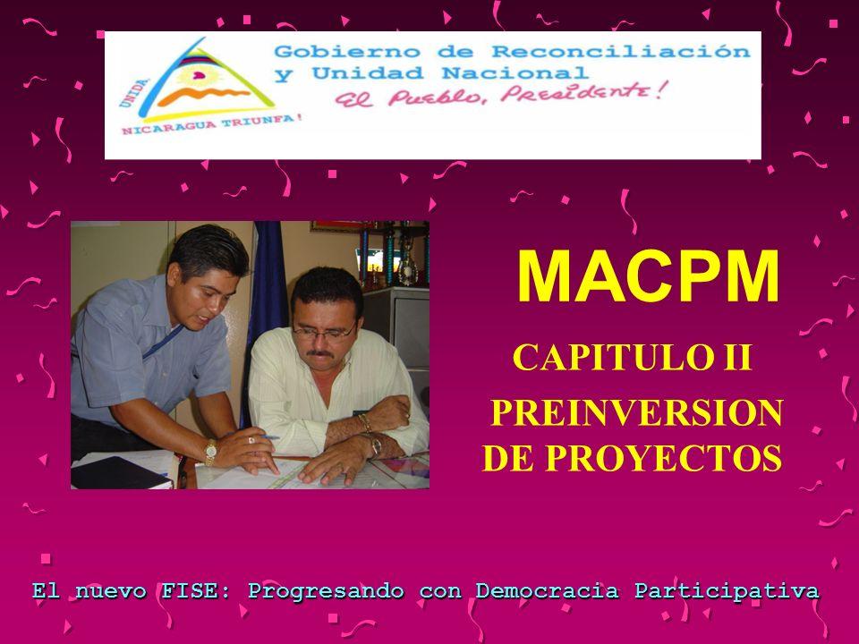PASOS PARA LA PREFACTIBILIDAD Paso 8: Elaborar Informe de Prefactibilidad y sus anexos.