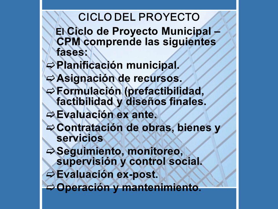 PASOS PARA LA PREFACTIBILIDAD Paso 9: Verificar Informe de Prefactibilidad y sus anexos.