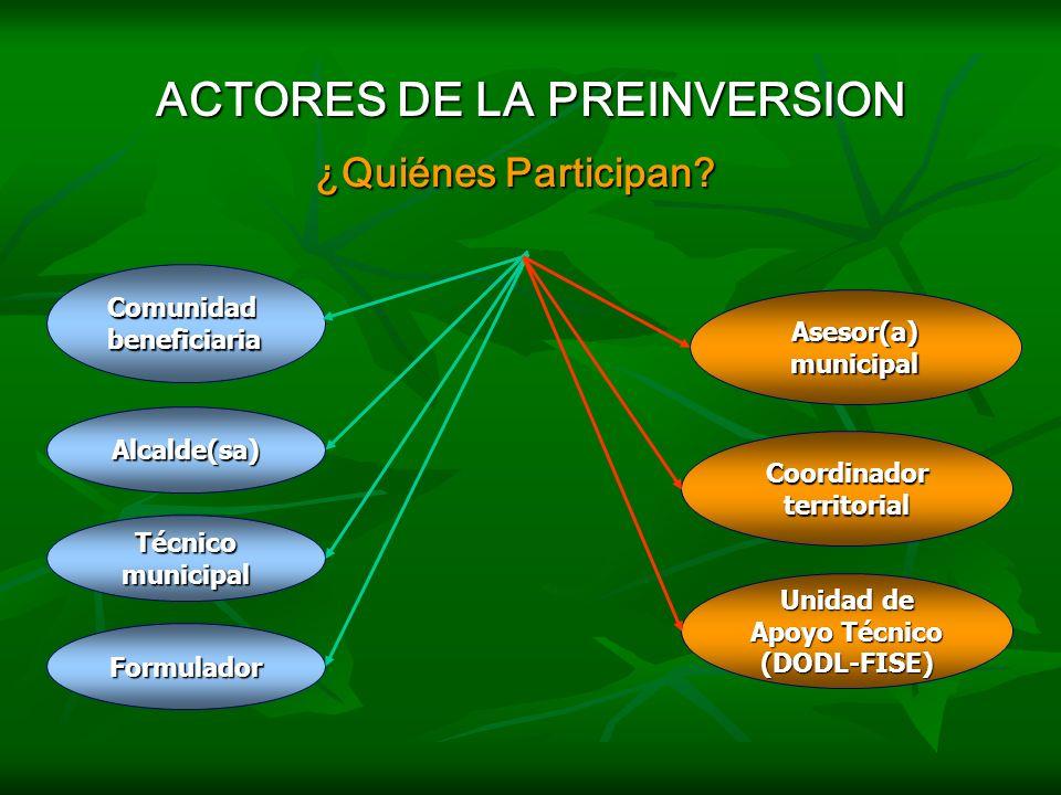 PASOS PARA LA PREFACTIBILIDAD Paso 9: Verificar Informe de Prefactibilidad y sus anexos. Paso 9: Verificar Informe de Prefactibilidad y sus anexos. El