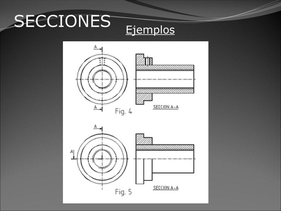 SECCIONES Ejemplo CORTE PARCIAL