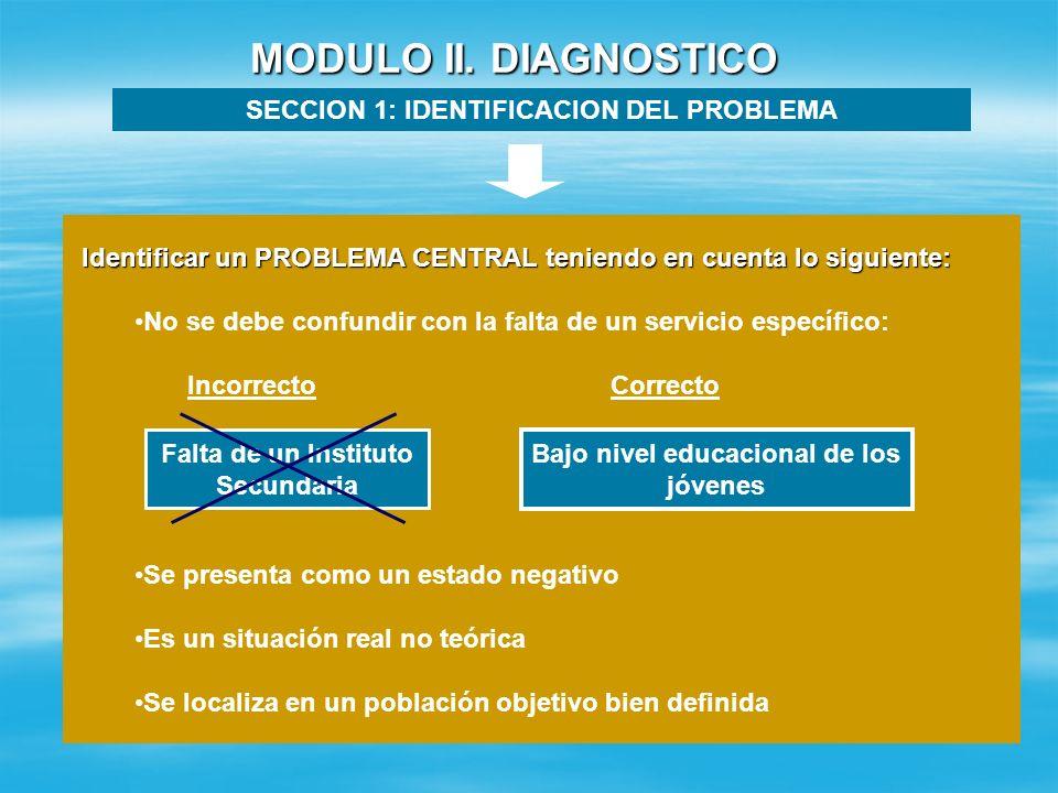 MODULO I. INFORMACION GENERAL SECCION 3: DATOS DEL SOLICITANTE Institución Solicitante: Nombre Completo de la persona Representante: Responsable del P