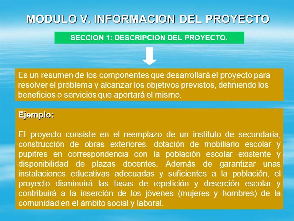 MODULO IV. SELECCIÓN DE ALTERNATIVA Cuadro 3 : Evaluación de Aspectos por Alternativas ASPECTOS A EVALUAR Puntaje Alternativa 1 Alternativa 2 Evaluaci