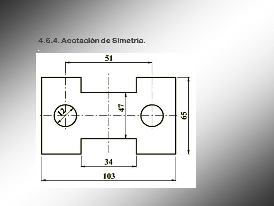 4.6.4. Acotación de Simetría.