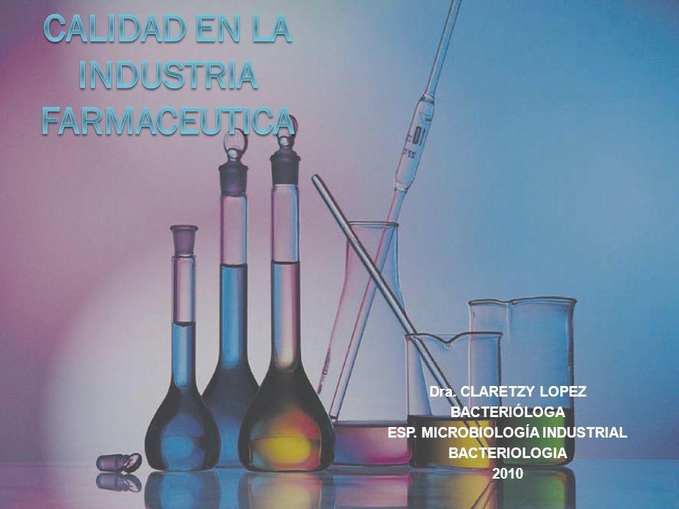 CALIDAD MICROBIOLOGIA Técnicas: 1.Test de la eficacia del conservante 2.