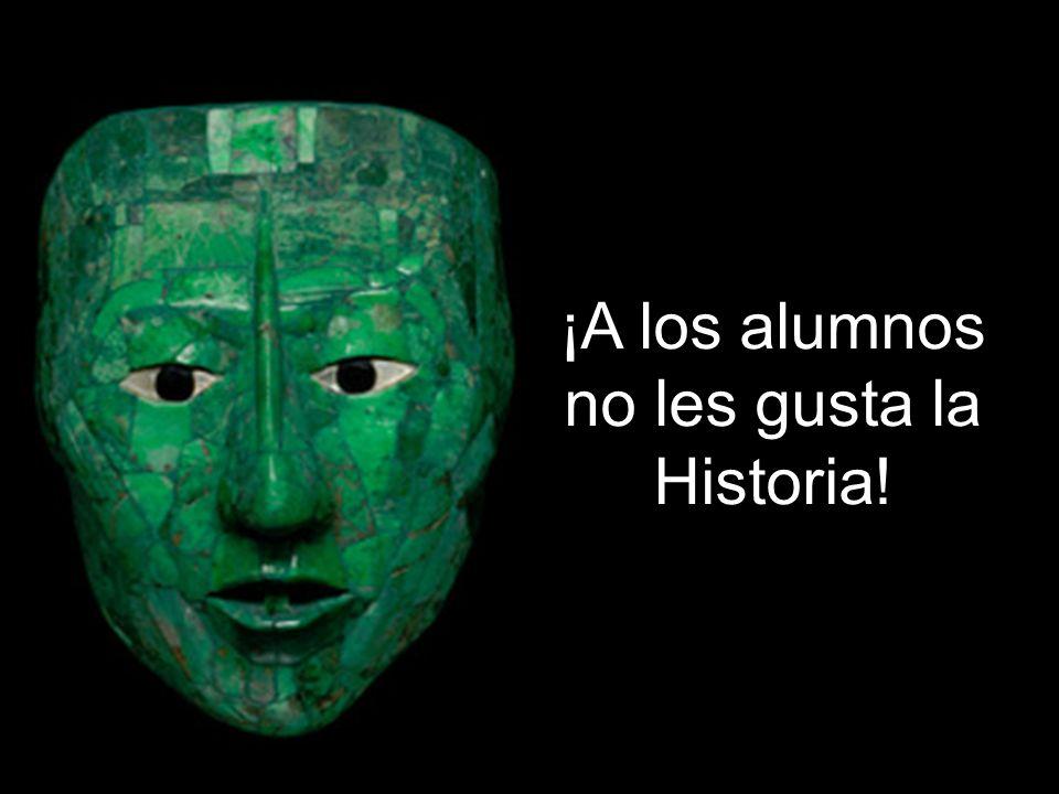 ¡No estudian Historia!