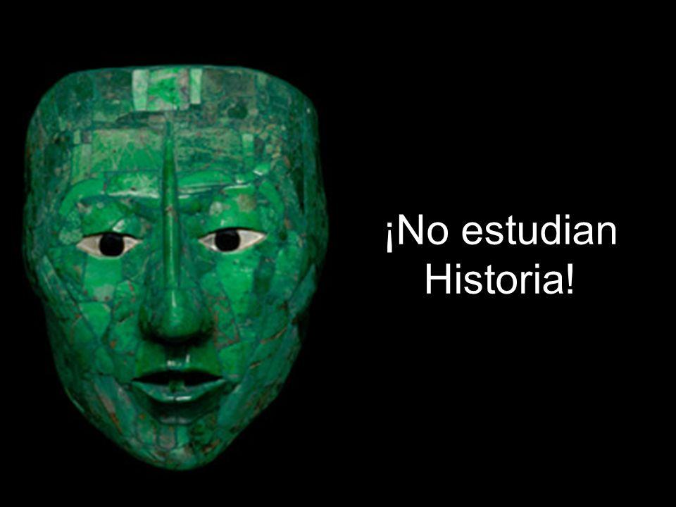 ¡No aprenden Historia!
