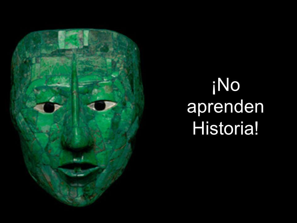 ¡No saben Historia!