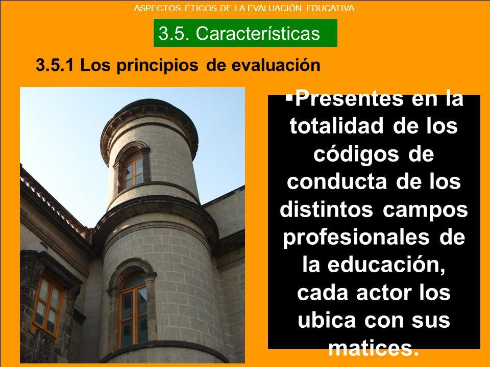 Presentes en la totalidad de los códigos de conducta de los distintos campos profesionales de la educación, cada actor los ubica con sus matices.