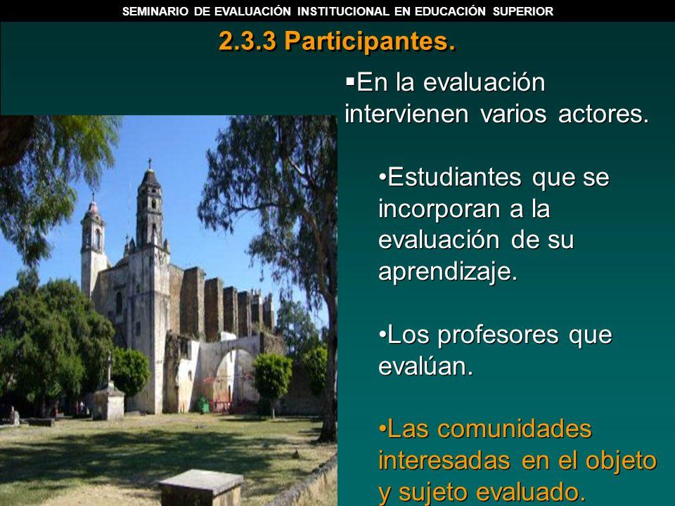 1.4.1 Componentes esenciales y críticos de la evaluación.