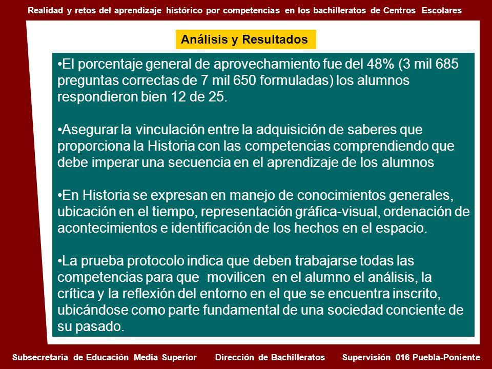 REALIDAD Y RETOS DEL APRENDIZAJE HISTÓRICO POR COMPETENCIAS EN LOS BACHILLERATOS DEL MODELO CENTROS ESCOLARES EN EL ESTADO DE PUEBLA I.