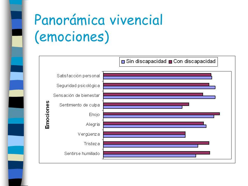 Panorámica vivencial (emociones)