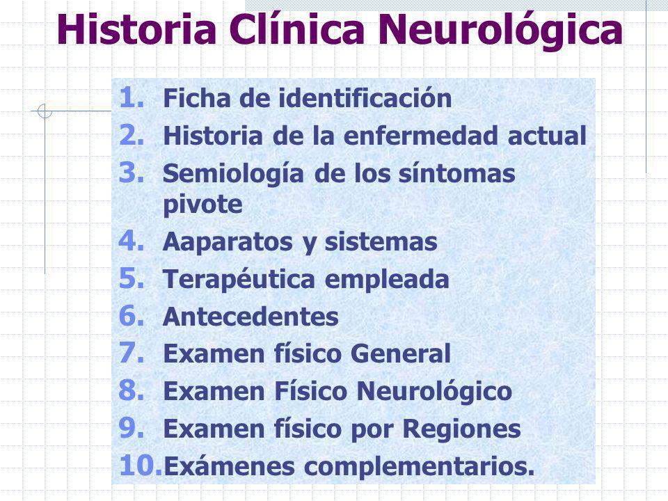 Trastornos Mentales 1.Estado Emocional 2. Memoria 3.
