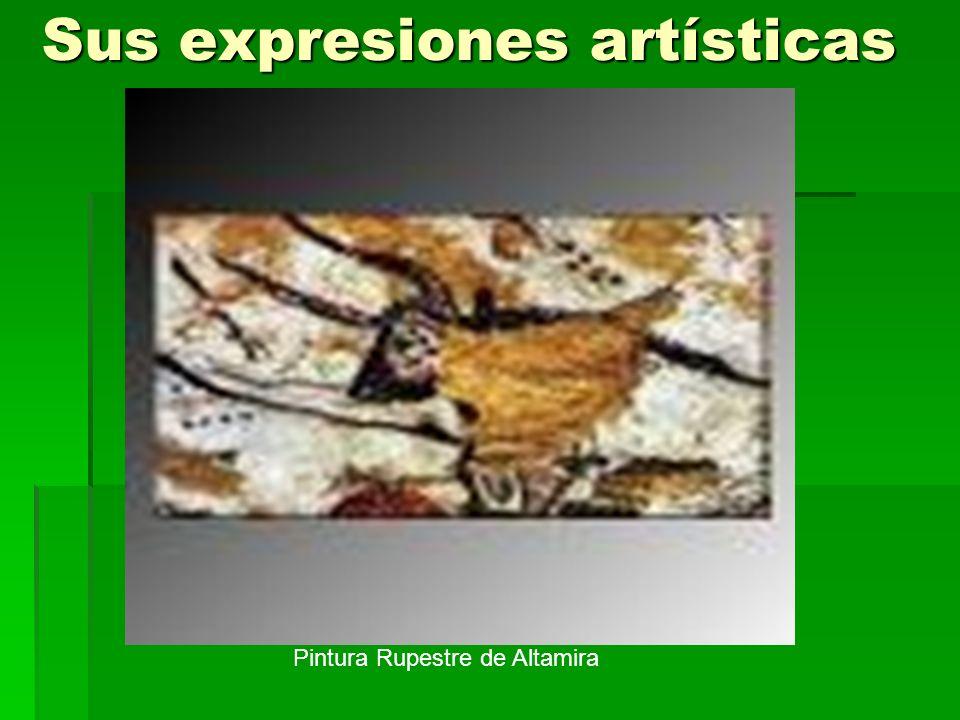 Sus expresiones artísticas Pintura Rupestre de Altamira