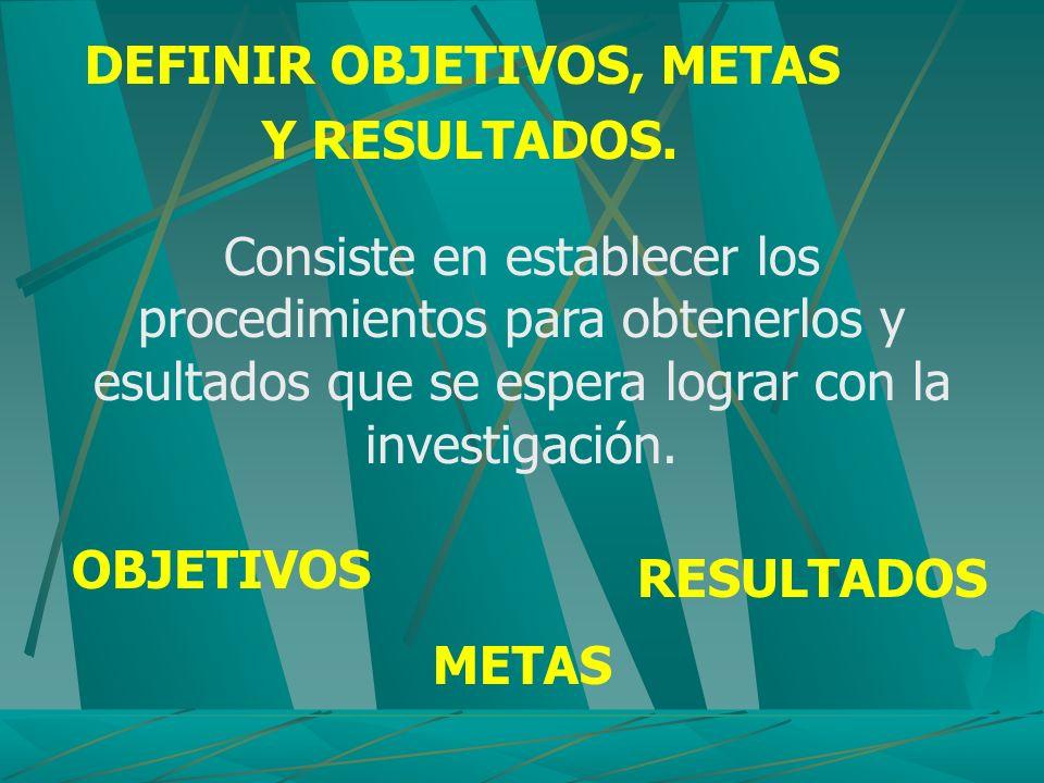 RECOLECTAR DATOS Objeto: comprende obtenición, registro y selección de datos.