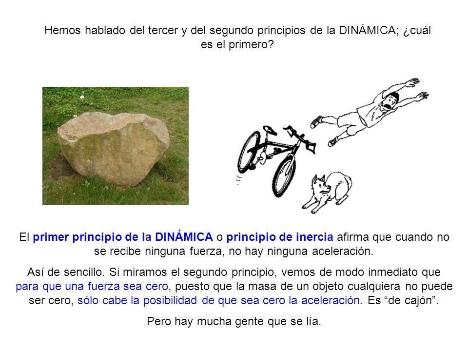 Hemos hablado del tercer y del segundo principios de la DINÁMICA; ¿cuál es el primero? http://knol.google.com/k/la-din%C3%A1mica# El primer principio