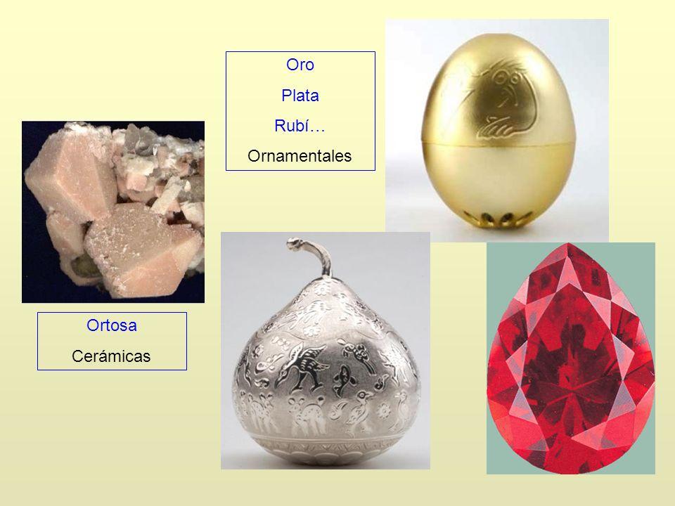 Ortosa Cerámicas Oro Plata Rubí… Ornamentales