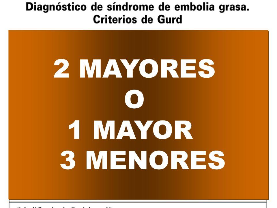 2 MAYORES O 1 MAYOR 3 MENORES