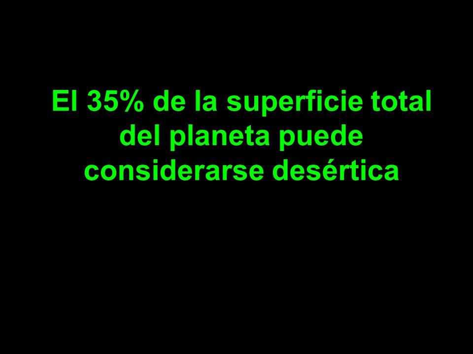 en la actualidad, la población vive pendiente del cambio climático, pero se olvida de problemas igual de importantes, en los que en ningún momento se puede sobrepasar el límite, y en los que la población no está bien informada, como son los problemas de desertificación, la falta de agua, pérdida de biodiversidad