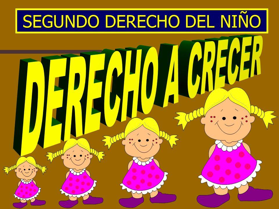 SEGUNDO DERECHO DEL NIÑO