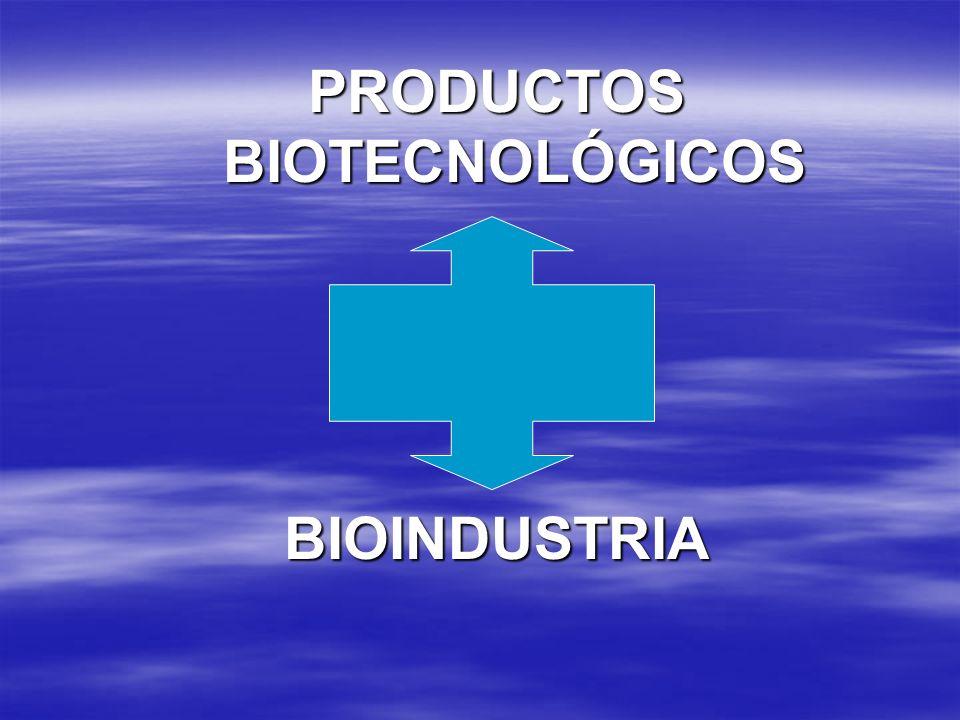PRODUCTOS BIOTECNOLÓGICOS BIOINDUSTRIA
