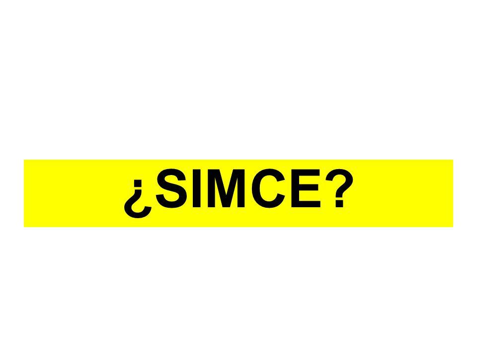 ¿SIMCE?