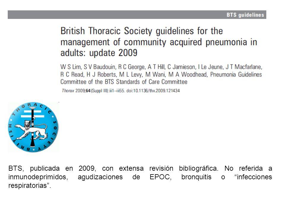 BTS, publicada en 2009, con extensa revisión bibliográfica.