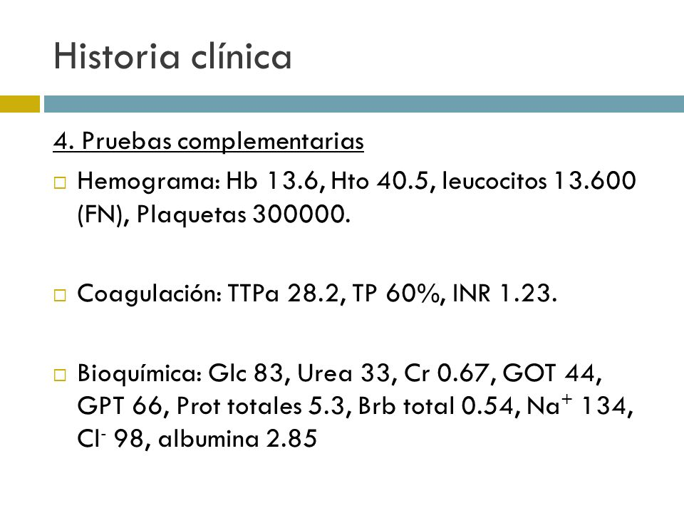 Historia clínica 4.