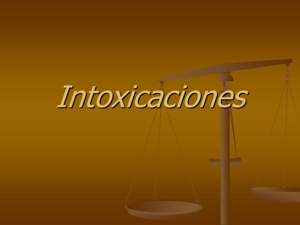 Organofosforados: Sustancia biodegradable Sustancia biodegradable Con fines bélicos: GB, nervino, trilón, sarin, tabún Con fines bélicos: GB, nervino, trilón, sarin, tabún Derivados de acido fosfórico Derivados de acido fosfórico Dosis tóxicas: desde 15-20 mg de sustancia activa: tep - pestox Dosis tóxicas: desde 15-20 mg de sustancia activa: tep - pestox hasta DL > a 1 gramo: Paration, diazinon, malation.