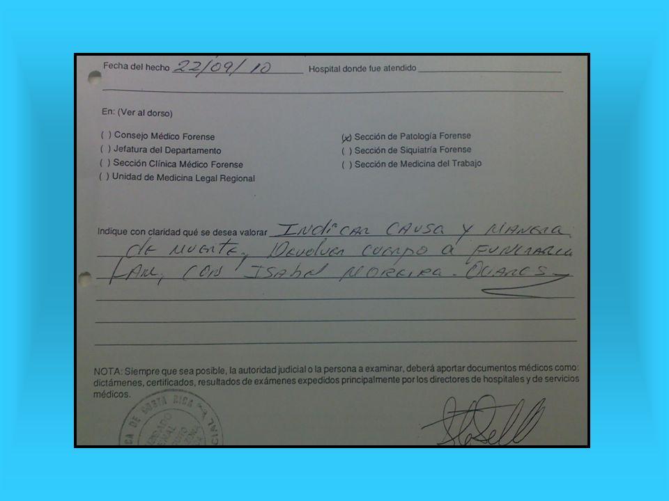 ¿Cómo se anota.Las causas de muerte se anotan en un Certificado de Defunción.